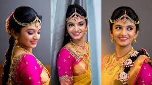 green trends is the best beauty parlour in thanjavur and doing best bridal makeup hair