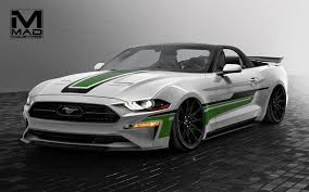 2018 ford mustang ecoboost. wonderful 2018 2018 ford mustang ecoboost convertible by mad industries and ford mustang ecoboost