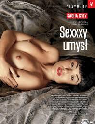 Sasha Grey for Playboy Magazine Poland Your Daily Girl