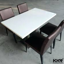 acrylic top dining table solid top dining table china restaurant dining table acrylic solid surface table