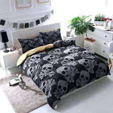 skull and crossbones bedding black bohemian bones skull bedding set skull and crossbones comforter set