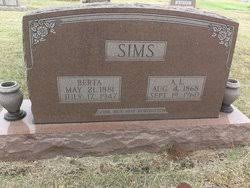 """Abraham Lincoln """"Abe"""" Sims (1868-1960) - Find A Grave Memorial"""