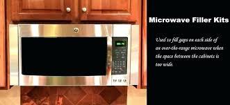 kitchenaid microwave trim kit microwave kitchenaid 24 stainless steel microwave oven trim kit