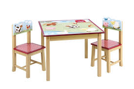 table chair set kids replica view larger
