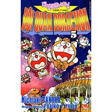 Sách - Đội Quân Doraemon Tập 5, Giá tháng 12/2020