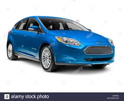 Blue 2012 Ford Focus Electric BEV Stock Photo: 104663733 - Alamy