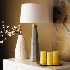 table lamps lighting. concrete column table lamp lamps lighting