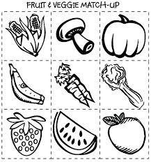 Free Printable Food Colouring Sheets Breakfast Food Coloring Pages