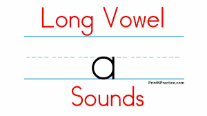 Why not put this colorful wall chart on the wall of the classroom to remind the students all the time? Use 5 Long Vowel Sounds Aeiou Printnpractice Phonics Worksheets Youtube