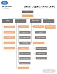 School Organizational Chart Template Free School Organizational Chart Organizational Chart