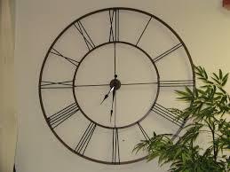 decorative big wall clocks walls decor