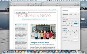newsletter template for pages creating a newsletter in pages and saving a template youtube