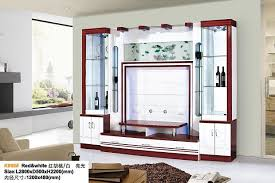 china modern design living room tv wall