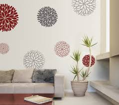 Small Picture flower wall applique Wall sticker design of some abstract