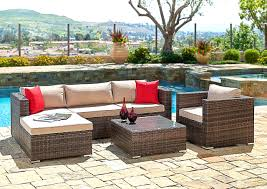 patio furniture sets walmart. Cheap Patio Sectionals Unique Wicker Outdoor Sofa 0d Chairs From Furniture Box Cushions Source Sets Walmart