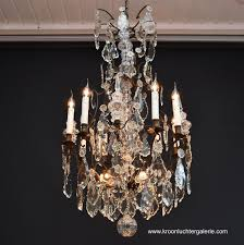 start the slideshow 19th century french crystal chandelier ref