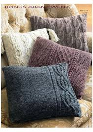 Sweater Knit Pillow Cover