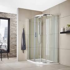 premier apex offset quadrant shower enclosure 1000mm x 800mm with shower tray rh 8mm glass