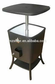 refrigerator table. new design wooden cooler box outdoor ice table mini freezer portable fridge/ refrigerator