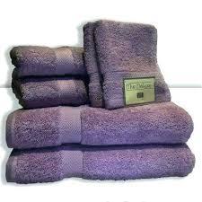 decorative bath towels purple. Decorative Bath Towels Purple Bathroom Deluxe 6 Piece Cotton Terry Towel Set In Lilac .