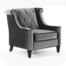 Upholstered Chairs For Living Room Barrister Upholstered Chair Gray Chairs