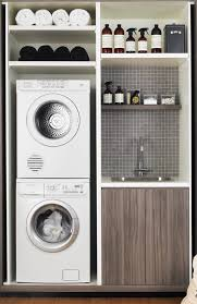 standard laundry spaces and clearances