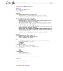 Resume Format American Style Welcome To The Purdue University Online  Writing Lab Owl Google Resume