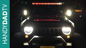 Sunpie Led Lights Jeep Wrangler Halo Headlights By Sunpie