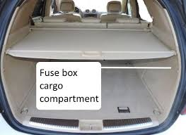 Fuses W164 M Class 2006 2011 Diagram Box Location Ml320