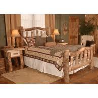 log bedroom set. wasatch log furniture - aspen silver creek bedroom set u