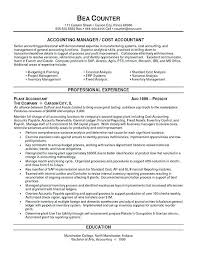 Sample Accountant Resume Adorable Example Accounting Resumes Accountants Resume Sample Staff