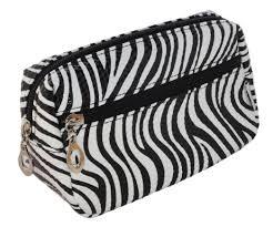 print zebra leopard cosmetic make up bag case or small toiletry wash bag zebra print in on alibaba