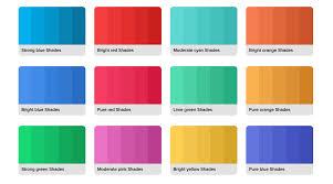 Rgba Color Chart Html Colors