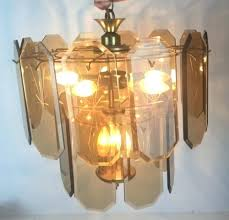 glass panel chandelier amber glass chandelier beveled starburst amber glass panel lamp chandelier w cord glass