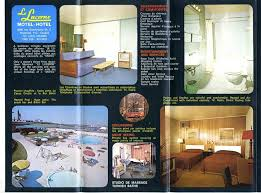 Lucerne Motel & Reveillon Restaurant Brochure Montreal Quebec Canada ...