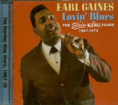 Earl Gaines CD: Lovin Blues (CD) - Bear Family Records