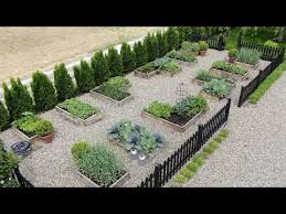 my vegetable garden layout tour