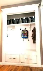 coat closet organization ideas hallway small deep