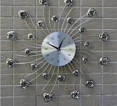 Delightful European Style Living Room Wall Clock Bedroom Creative Personality Mute Wall  Clock Modern