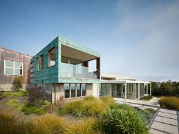 smart home designs. energy-efficient stinson beach house looks like a clustered mountain village smart home designs o