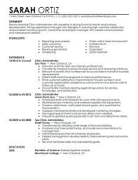 clinic administrator salon spa fitness , Clinic Manager Resume Template ,  Becoming a clinic manager is