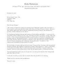 Graduate Cover Letter Examples Cover Letter Example For Nurses Arzamas