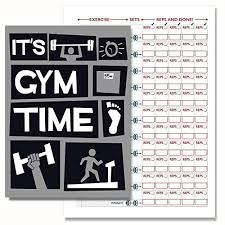weight training log book sports fitness planners find offers online and compare prices at
