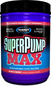 superpump max gaspari nutrition