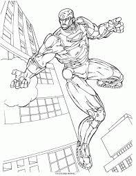 Disegni Supereroi Az Colorare