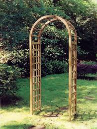 the elite wooden garden arch