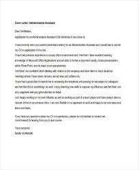 Cover Letter For Administrative Assistant Position Uk Tomyumtumweb Com