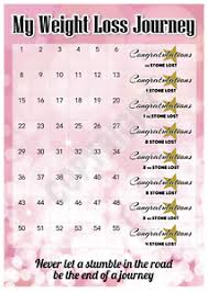 Slimming World Weight Loss Chart Details About Weight Loss Chart 4 Stone Stickers Pink Slimming World Weight Watchers
