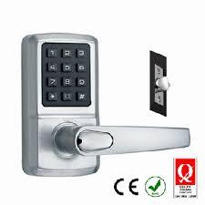 digital office door handle locks. Keypad Door Lock, Code Input Keyless Digital Smart Electronic Home Security And Hardware Product, Latest Technology, Office Handle Locks E