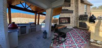outdoor kitchens patios living in